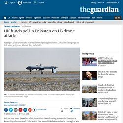 UK funds poll in Pakistan on US drone attacks