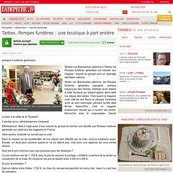 Tarbes. Pompes funèbres : une boutique à part entière - Hautes-Pyrénées