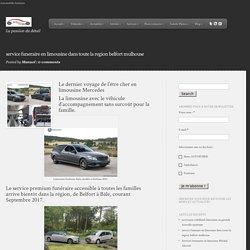 service funeraire en limousine dans toute la region belfort mulhouse