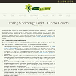 Funeral flowers delivery Toronto