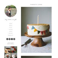 funfetti cake — molly yeh