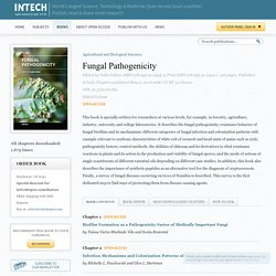 INTECH - MAI 2016 - Fungal Pathogenicity