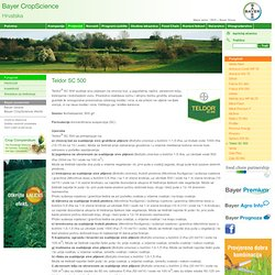 Fungicidi - Teldor SC 500 - Bayer CropScience Hrvatska