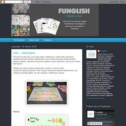 Funglish: Let's... - board game