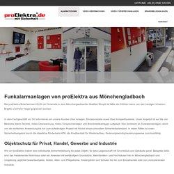 Funkalarmanlagen aus Mönchengladbach