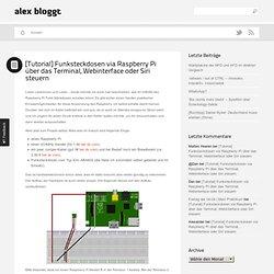 Tutorial: Funksteckdosen am Raspberry Pi (1)