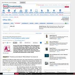 Access 2013: Pivot-Funktionen weiter nutzen - Tipp für Microsofts Datenbankprogramm
