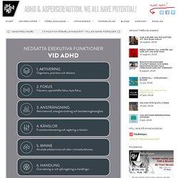 Nedsatta exekutiva funktioner vid ADHD – och hjälpmedel.
