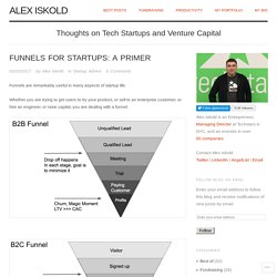 Funnels for Startups: A Primer