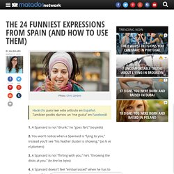 The 24 funniest expressions from Spain (and how to use them)
