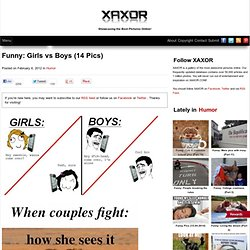 Girls vs Boys - StumbleUpon