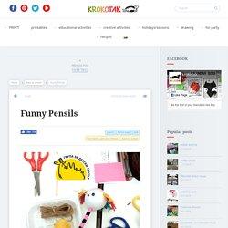 Funny Pensils