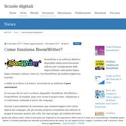 Come funziona BoomWriter?