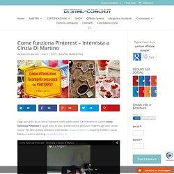 Come funziona Pinterest - Intervista a Cinzia Di Martino