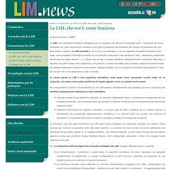 La LIM: che cos'è, come funziona - LIM news - SCUOLA PRIMARIA - DeAgostini scuola