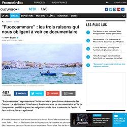 """""""Fuocoammare"""" : les trois raisons qui nous obligent à voir ce documentaire"""