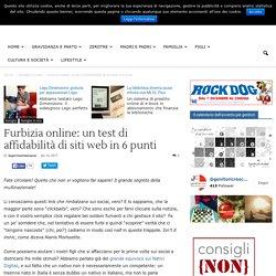 Furbizia online: un test di affidabilità di siti web in 6 punti
