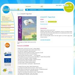 le Furet N°37 : Pages d'éveil - Association Le Furet