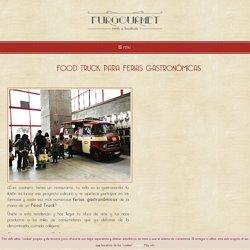 Food Truck para ferias gastronómicas