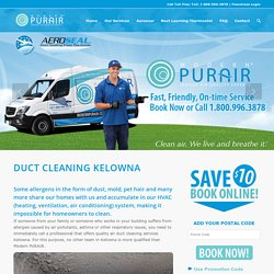Kelowna Air Duct Cleaning Services