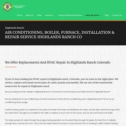 HVAC Installation & Repair Service Highlands Ranch