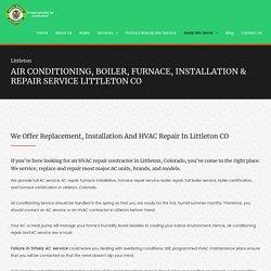 HVAC Installation & Repair Service Littleton