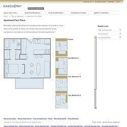 Furnished Apartment Floor Plans & Studio Apartment Floor Plans by ExecuStay