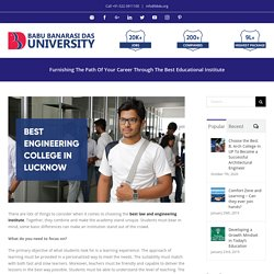 Furnishing The Path Of Your Career Through The Best Educational Institute