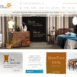 FabFurnish.com - Online Shopping India | Furniture, Home Decoration, Bedding, Kitchenware