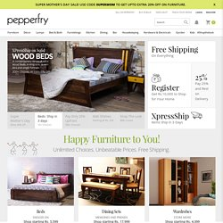 Pepperfry.com - Online Shopping Store | Lifestyle Products at Great Prices