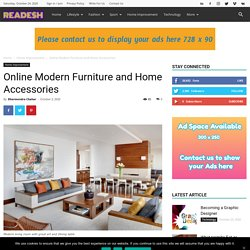 Online Modern Furniture and Home Accessories - Readesh