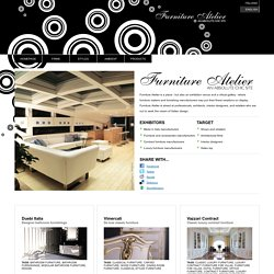 Furniture Atelier - Italian Luxury Furniture Directory