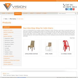 Cafe Furniture in Melbourne - Vision