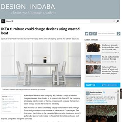 IKEA furniture could charge devices using wasted heat