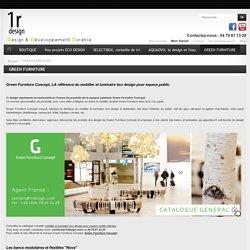 1Rdesign, mobilier durable pour espaces publics