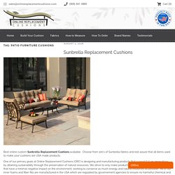 patio Furniture Cushions Archives