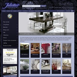 French Furniture & Mirrors - Contemporary, Modern, Classical Furniture