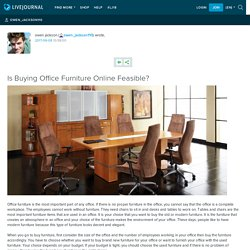 Is Buying Office Furniture Online Feasible?: owen_jackson110