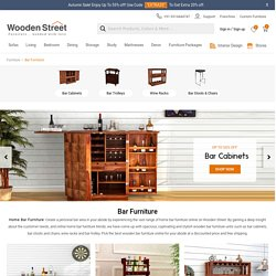 Buy Mini Bar Furniture for Small Home Online at Wooden Street