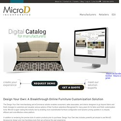 Website Design for Furniture Industry