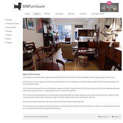 G N Furniture - Retro Furniture, Vintage Furniture, Classic Furniture, Islington, London, UK, Design, Minimalist, Danish, Swiss, Lighting, Glassware, China