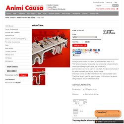 Gifts | Gift | Inflow Table | Modern Furniture and Lighting | Animi Causa Boutique