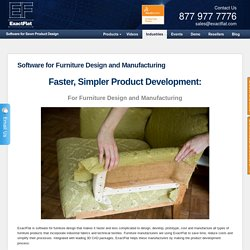 Software for Furniture Design and Manufacturing
