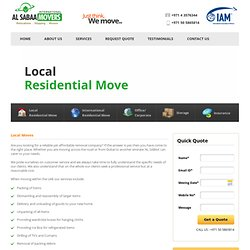Home Movers Dubai