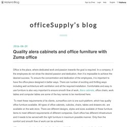 Quality alera cabinets and office furniture with Zuma office - officeSupply's blog
