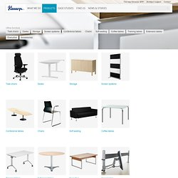 Office furniture - Products - Master - Kinnarps