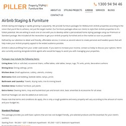 Piller Property Styling and Furniture Hire