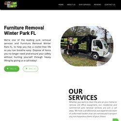 Furniture Removal Winter Park FL