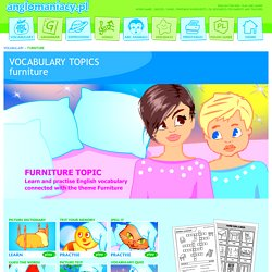 Furniture Topic for ESL Kids