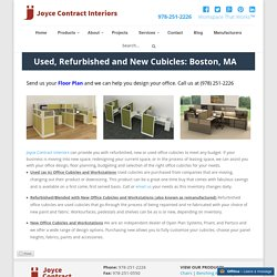Used Office Furniture for Sale in Westford & Boston, MA